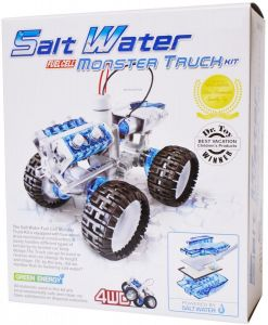 Конструктор Монстр-трак на энергии соленой воды MONSTER TRUCK ENERGY OF SALT WATER CIC 21-752