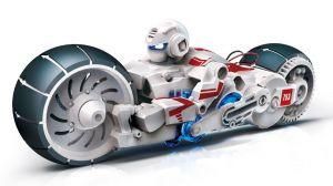 Конструктор Робот мотоцикл на энергии соленой воды ROBOT MOTORBIKE ENERGY OF SALT WATER CIC 21-753