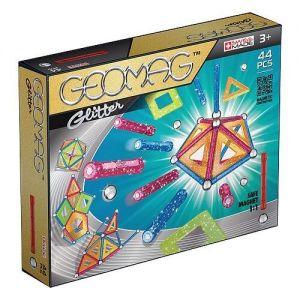 Магнитный конструктор Geomag Color GLITTER 44 детали