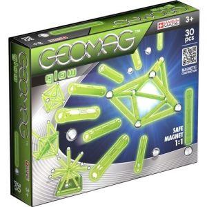 Магнитный конструктор Geomag Glow 30 деталей