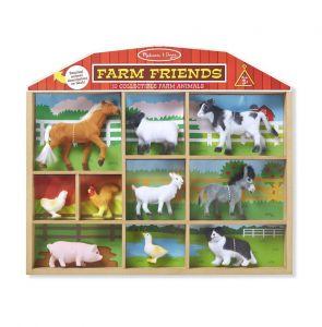 Набор животных фермы, Melissa & Doug MD593,10 шт.