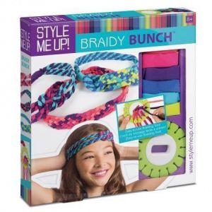 Набор для изготовления украшений для волос Braidy Bunch