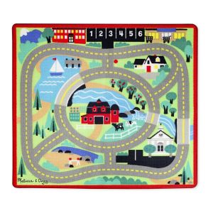 Melissa & Doug Игровой коврик с машинками Городская дорога MD19400