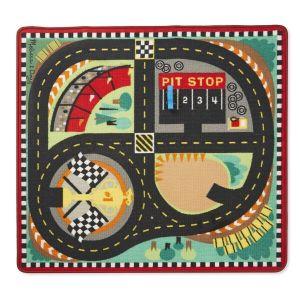 Игровой коврик с машинками Гоночная трасса Melissa & Doug MD19401