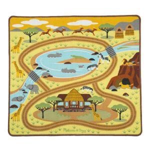 Игровой коврик с животными Сафари-Саванна Melissa & Doug MD19428