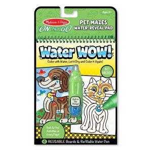 Волшебная водная раскраска Лабиринты MD9484 Pet Mazes