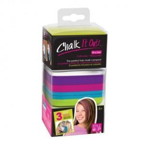Набор мелков для волос с трафаретами Style Me Up Chalk
