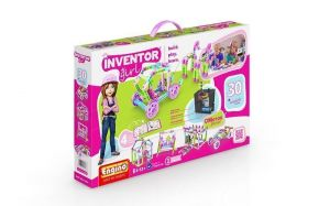 Конструктор с электродвигателем ENGINO INVENTOR PRINCESS MOTORIZED 30 в 1