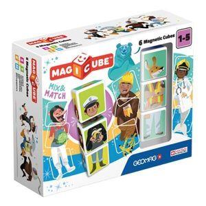 MAGICUBE Mix & Matсh магнитные кубики Geomag 6 кубов