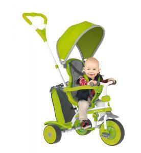Детский велосипед Spin зеленый Y STROLLY