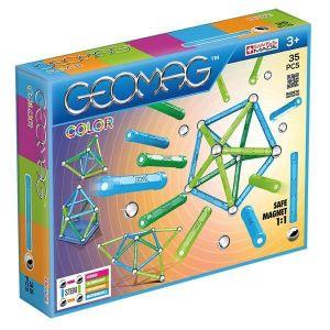 Магнитный конструктор Geomag Color 35 деталей