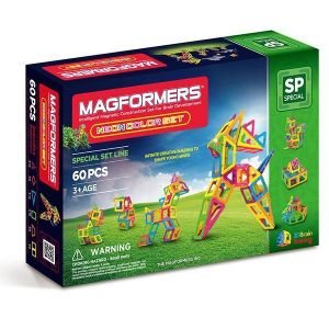 Магнитный конструктор Magformers Неоновые цвета, 60 элементов, Neon Color Set