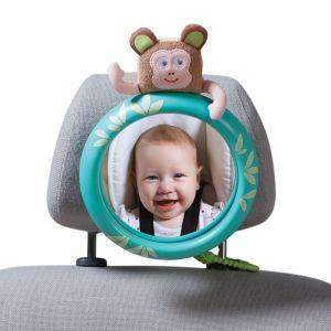 Обзорное зеркало в автомобиль для родительского контроля за ребенком ТРОПИКИ