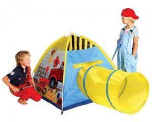 Детская палатка - Рабочая станция с туннелем