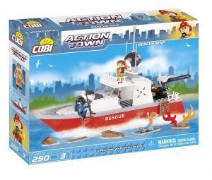 Конструктор COBI Спасательный катер' Action Town, 250 деталей
