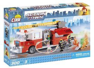 Конструктор COBI Пожарная машина Action Town, 300 деталей