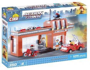 Конструктор COBI Пожарная станция Action Town, 350 деталей