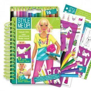"Style Me Up Мини альбом для творчества ""Городской шик"" Style Me Up"