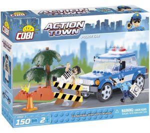 Конструктор COBI Полицейская машина, Action Town, 150 деталей