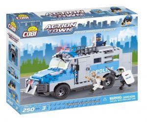 Конструктор COBI 'Полицейская бронированная машина' Action Town, 250 деталей