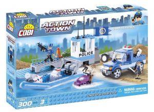 Конструктор COBI Морской патруль, Action Town, 300 деталей