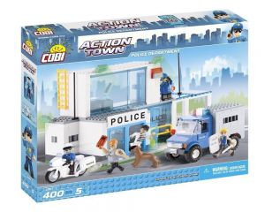 Конструктор COBI 'Полицейский участок' Action Town, 400 деталей