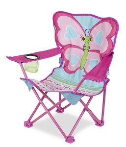 """Раскладной детский стульчик """"Бабочка Белла"""" NEW Melissa & Doug"""