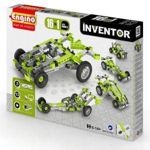 Конструктор Engino INVENTOR Автомобили 16 в 1