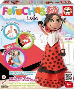 Набор для творчества Кукла Фофуча Лола