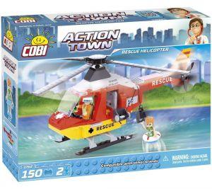 Конструктор COBI 'Спасательный вертолет' Action Town,150 деталей