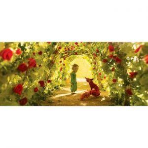 """Пазл Маленький принц """"Сад роз"""" с деревянной рамкой"""