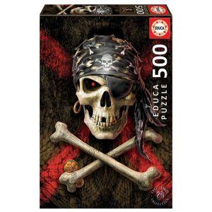 EDUCA Пазл Пиратский череп 500 элементов