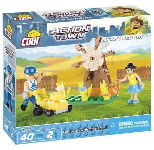 Конструктор COBI 'Садовник' Action Town, 40 деталей