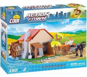 Конструктор COBI 'Водяная мельница' Action Town, 150 деталей