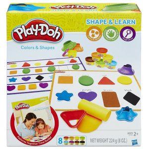 Игровой набор ЦВЕТА И ФОРМЫ Play-Doh Hasbro