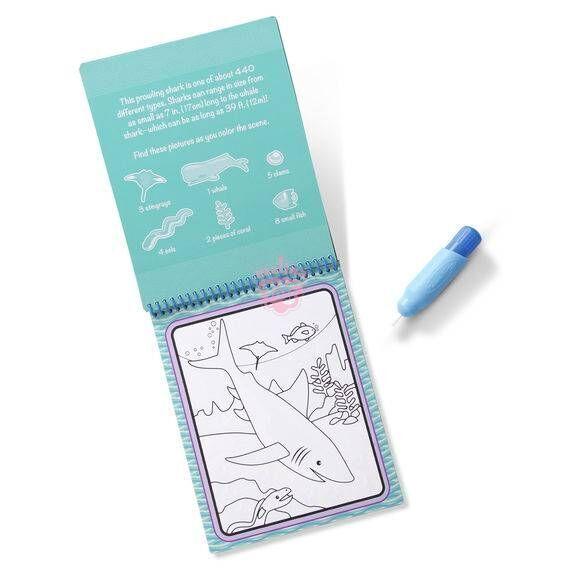 Купить волшебная водная раскраска сафари melissa & doug ...