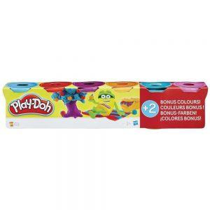Набор пластилина Play-Doh 4+2