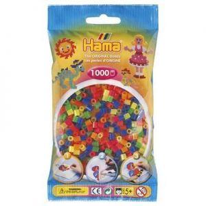 Термомозаика HAMA Набор цветных бусин, 1.000 шт. 6 неоновых цветов MIDI 5+
