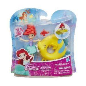 Маленькая кукла принцесса, плавающая на круге в ассорт., Hasbro