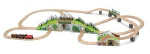 Деревянная железная дорога Melissa & Doug Горный тоннель MD611
