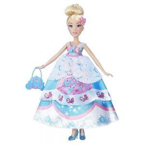 Кукла Принцесса Золушка в платье со сменными юбками