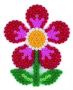 HAMA Поле для Midi, цветок, Midi 5+, термомозаика