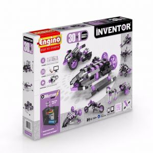 Конструктор c электродвигателем Engino INVENTOR MOTORIZED ADVENTURE 30 в 1