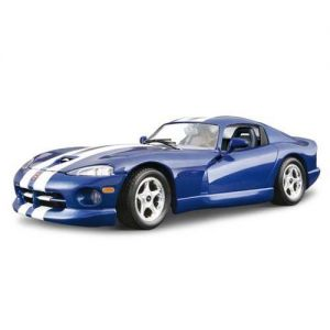 Авто-конструктор DODGE VIPER GTS COUPE (1996) (синий, 1:24) Bburago