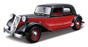 Автомодель Bburago CITROEN 15 CV TA (1938) (ассорти черный, красно-черный, 1:24)