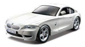 Автомодель Bburago - BMW Z4 M COUPE (ассорти белый, синий  металлик,  1:32)