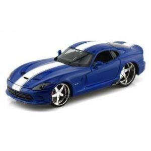 """Автомодель 2013 SRT Viper GTS синий металлик М1:24 - Серия """"AllStars"""" - тюнинг MAISTO"""
