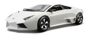 Модель автомобиля LAMBORGHINI REVENTON, Bburago (ассорти матовый белый, серый металлик 1:24)