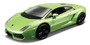 Автомодель Bburago - LAMBORGHINI GALLARDO LP560-4 (2008), (ассорти белый,  светло-зеленый металлик, 1:32)