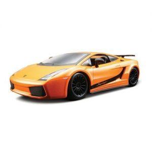 Авто-конструктор LAMBORGHINI GALLARDO SUPERLEGERRA 2007 (оранжевый металлик, 1:24) Bburago